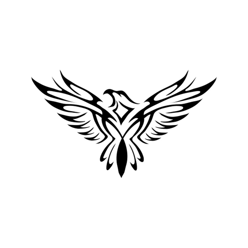 US $2 74 39% OFF|Bumper Sticker Eagle Tattoo Bird Fun Car Sticker Vinyl  Packaging Auto Parts Product Decal-in Car Stickers from Automobiles &