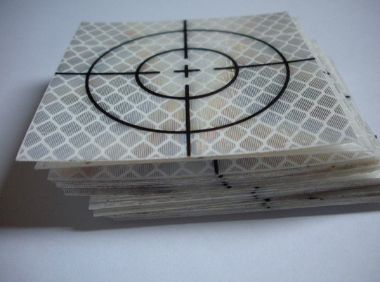 NEW 100 pcs Reflector Sheet 60 x 60mm Reflective tape targe for Leica /topcon/sokkia/nikon Total Station high quality