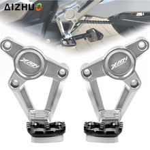 For HONDA X ADV XADV X-ADV 750 2017 2018 Folding Rear Foot Pegs Footrest Passenger Rear foot Set Motorcycle Accessories
