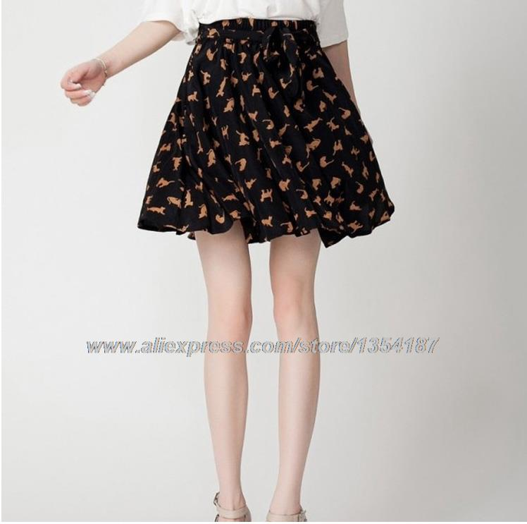 b25ca4e84 ... Ladies Chiffon Mini Printed Skirts Online Sexy Online Short Skirts  Casual Above The Knee Floral Spring ...