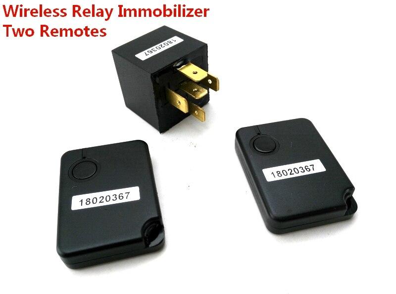 wireless immobilizer car engine lock anti hijacking intelligent circuit cut off alarm auto car inmoviliza for