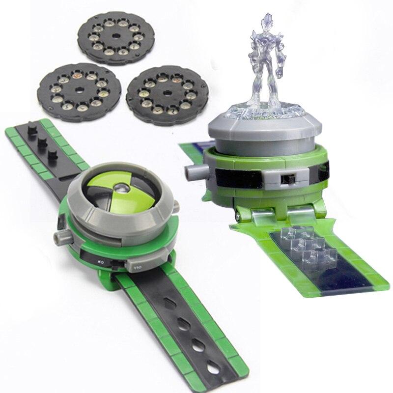Ultimate Omnitrix Ben 10 Toys Projector Watch Action Figure игра для ps3 ben 10 omniverse