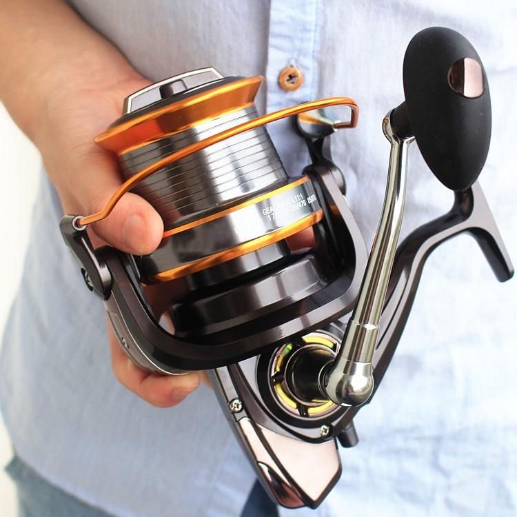 Big Game 1000 9000 13BB Spinning Reel Sea Fishing Coil Saltwater Baitcasting Distance Wheel Materiel de
