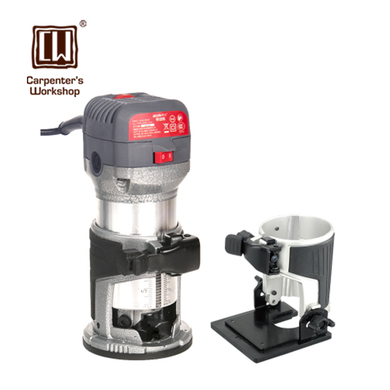 1 4 3 8 Collets Woodworking Router Motor with Tilt Base