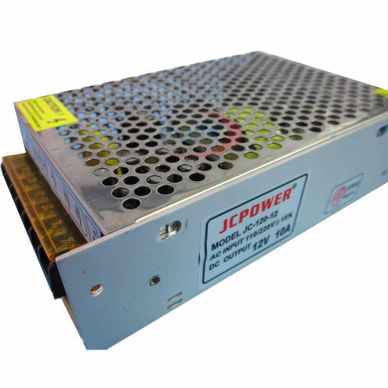 Fuente de alimentación de conmutación de iluminación LED adaptador de corriente CA 110 V-220 V 5V 12V 24V 48V para tiras de luces vídeo de vigilancia 1 Amp-60 Amp