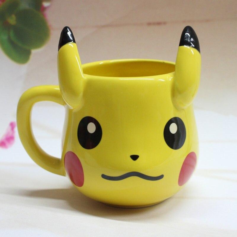 Cartoon Animal Ceramic Mug Travel Coffee Mug Ceramic Tea Water Bottle Cup Adult Kids Novelty Gifts Novelty Item Children Gift