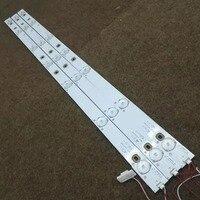 1 zestaw = 3 sztuk diod LED podświetlany pasek oryginalny TCL 32 cal L32F3320 3D TOT 32B2500B 3X7 4C LB320T YH7 w Oświetlenie sceniczne od Lampy i oświetlenie na