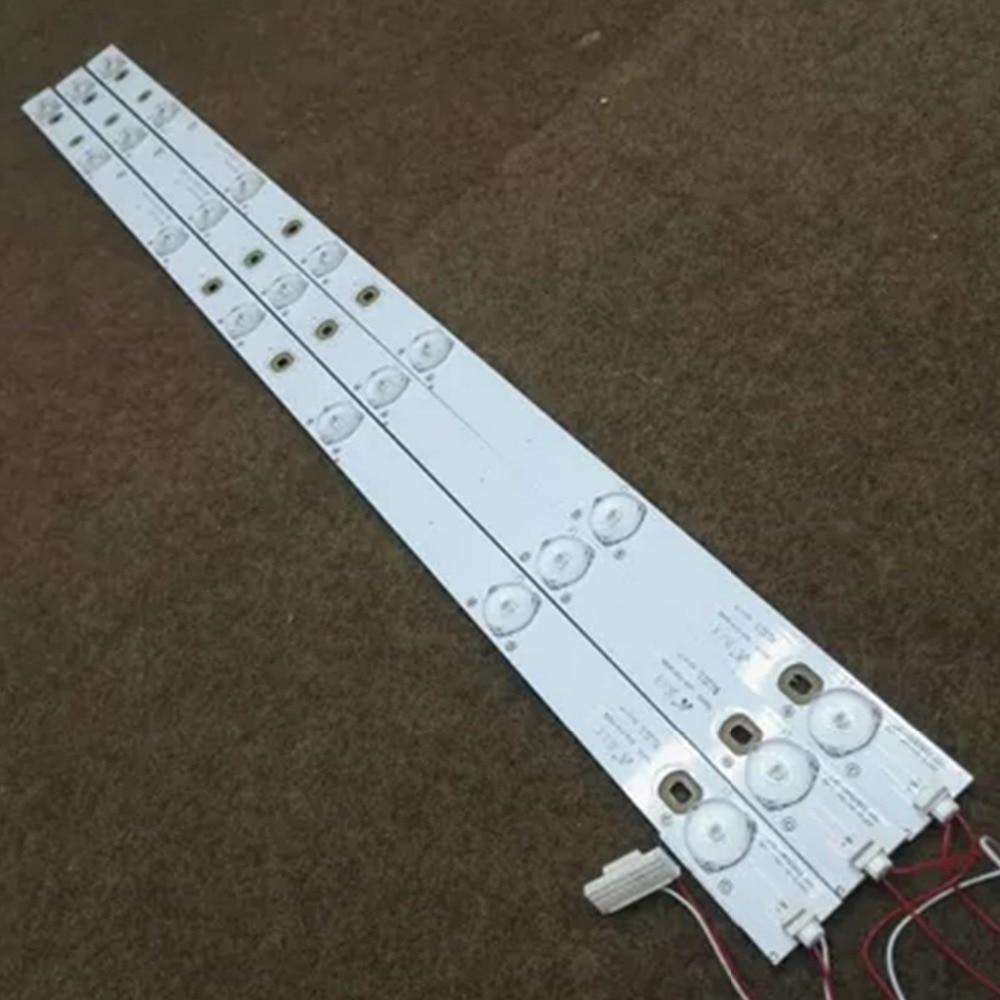 1SET=3pieces LED Backlight Bar  Original TCL 32inch L32F3320-3D TOT-32B2500B-3X7 4C-LB320T-YH7