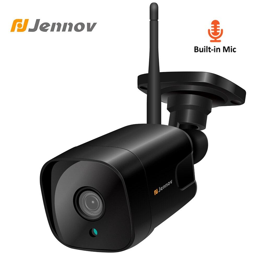 Jennov 1080P 960P WiFi Video Surveillance Kit IP Camera Outdoor Security Cameras For Home Audio System ONVIF CCTV Pet Camera