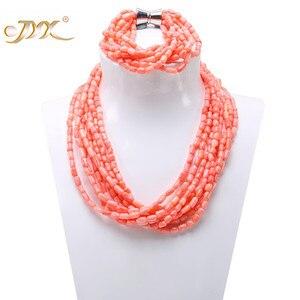 JYX Fine Coral Necklace Charmi