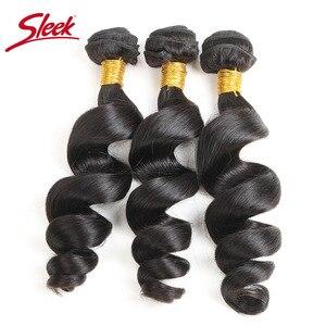 Image 5 - 洗練されたブラジルバンドル 100% 人毛バンドル 1 ピース 10 28 インチ非織り延長 3 または 4 バンドル購入することができ