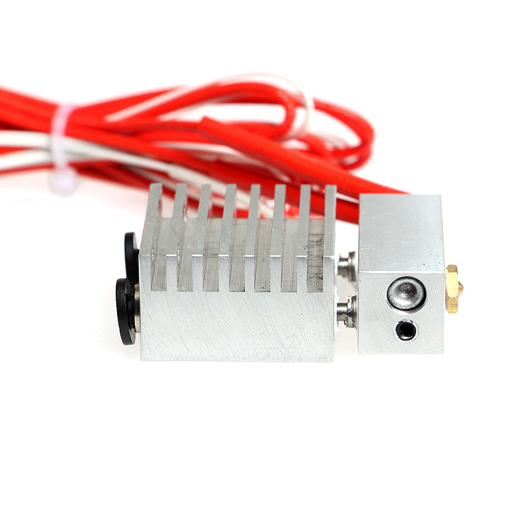 3D Printer Parts 3D Cyclops 2 In 1 Out Hotend Dual color extruder set Fittings Switching Hotend 12V/24V 40W 0.4mm Nozzle 1.75mm cyclops 2 in 1 out switching hotend multi extrusion color 3d extruder 0 5mm nozzle for 1 75mm filament