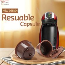 New 3rd Generation Dolce cafe Gusto Coffee Capsules Filter Cup Refillable Reusable Dripper Tea Baskets Dolci Capsule