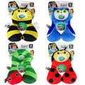 New Benbat Child Head Neck Support Headrest Travel Car Seat Pillow Cushion Buckle baby stroller Pillow protector