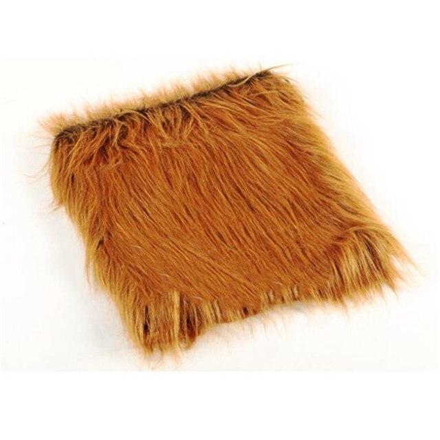 Lion Mane Dog Wig Costume 2