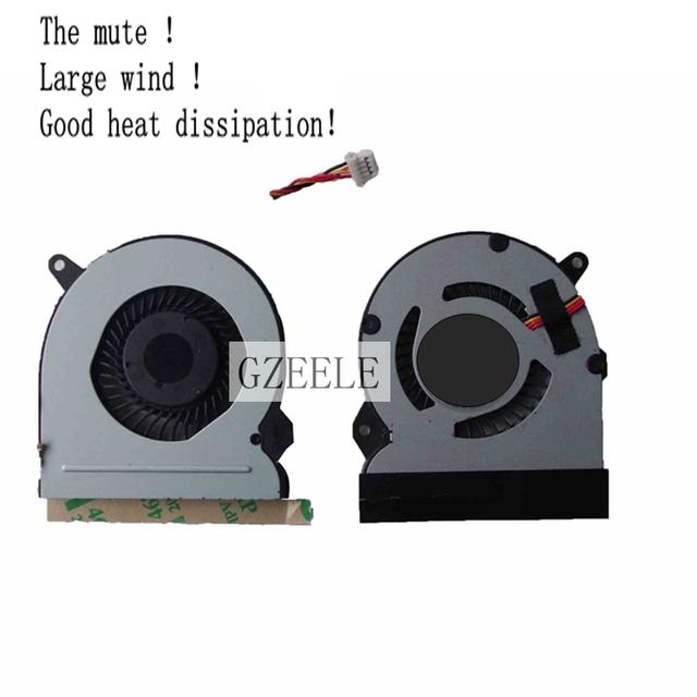 Nuevo para el asus eee pad ep121 b121 cpu del ordenador portátil ventilador de refrigeración refrigerador