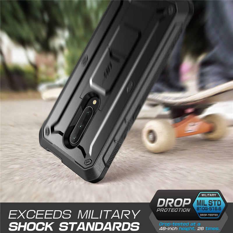 Para One Plus 7 Pro funda SUPCASE UB Pro funda resistente de cuerpo entero con O W/O incorporado Protector de pantalla y Kickstand