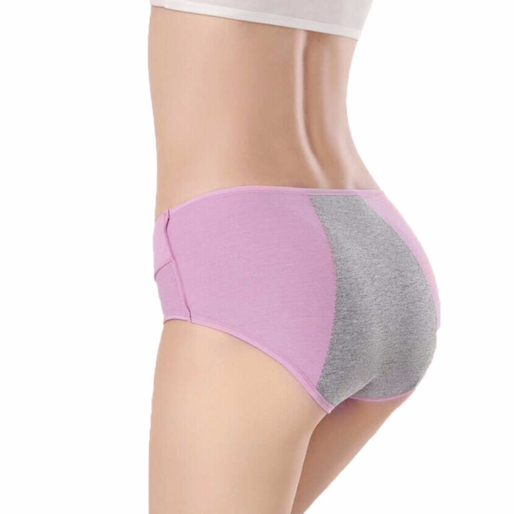 Women Lady Menstrual Period Leakproof Physiological Pant Briefs Seamless   Panties   New 2018