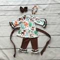 baby girls fall outfits girls fox outfits with belt girl boutique clothing children fox party clothes with necklace and headband
