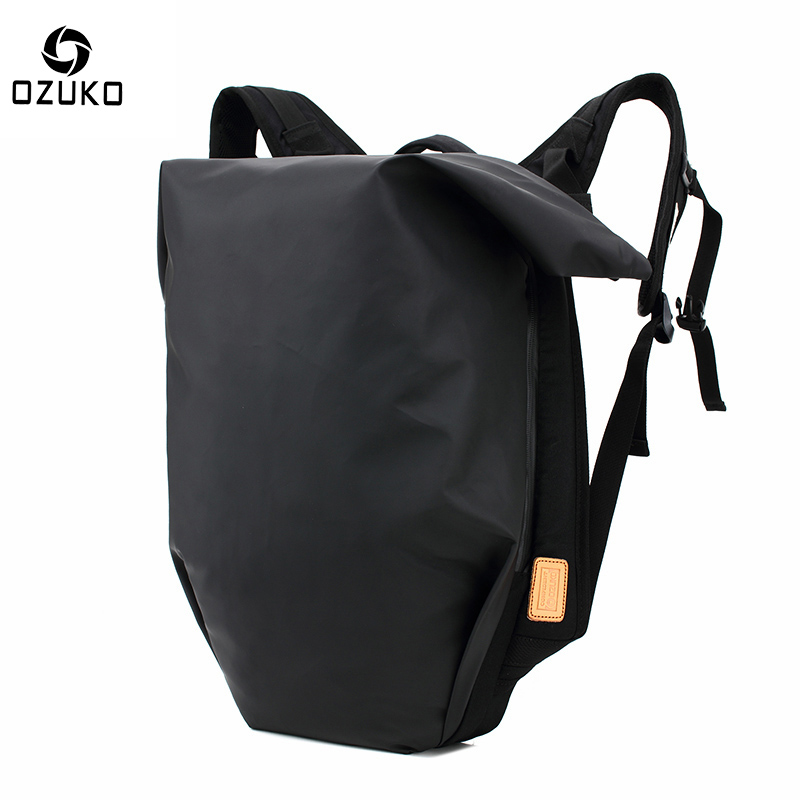2018 OZUKO New Style Men Backpack Casual Travel Students Mochila Waterproof Oxford 15 Inch Laptop Backpacks Teenagers School Bag ozuko brand men travel backpack 2018 new style casual school bag for teenagers 14 15 inch laptop masculina shoulder bags mochila