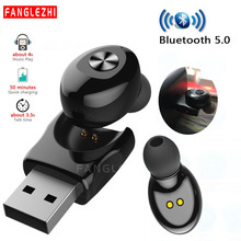 TWS Bluetooth 5.0 Earphone Wireless Headphone Noise Canceling HIFI Headse USB Sport Earphones With Mic Handsfree Calls for Phone цена