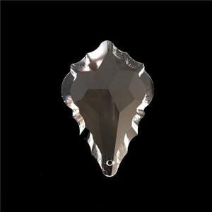 Image 2 - 卸売価格、送料無料 AAA 63 ミリメートル (85 ピース/ロット) クリスタルシャンデリアペンダント/クリスタルカーテンペンダント、クリスタルのシャンデリアパーツ