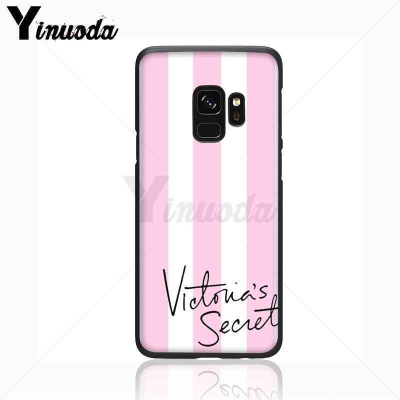 Yinuoda tình yêu màu hồng Pattern Mềm Phụ Kiện Điện Thoại Điện Thoại Di Động Trường Hợp Đối Với Samsung Galaxy s9 s8 cộng với lưu ý 8 note9 s7 điện thoại di động