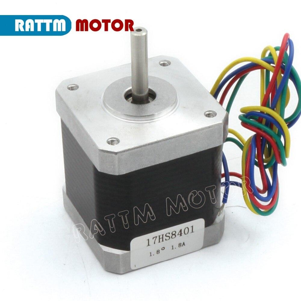 Рус/мкА/ЕС! 5 шт. Nema17 48 мм чпу шаговый двигатель 78Oz-in/1.8A шаговый двигатель фрезерный станок гравер 3D принт погремушка
