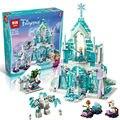 Lepin 25002 731 unids de Nieve Serie Mundial El Elsa Hielo Mágico castillo De Bloques de Construcción Ladrillos Juguetes Chica amigo con regalos 41148