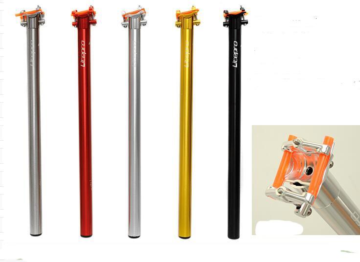 litepro BMX cycling seatpost dahon bicycle CNC seat tube A61 bike Seat Post 33.9mm*600mm dahon mondeo 2016