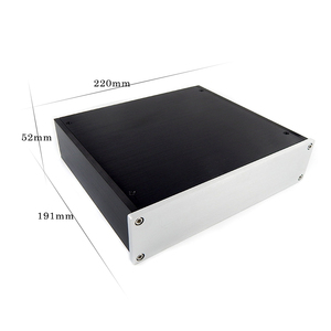 Image 2 - Aluminum case D2205 Aluminum Headphone Amplifier Chassis Preamplifier Enclosure AMP BOX PSU case