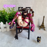 Anime Embrace Japan Planet Cat and Chairs Brinquedos Sexy Pvc Action Figure Girl Detachable Nude 1/10 Sexy Collection Model Toys