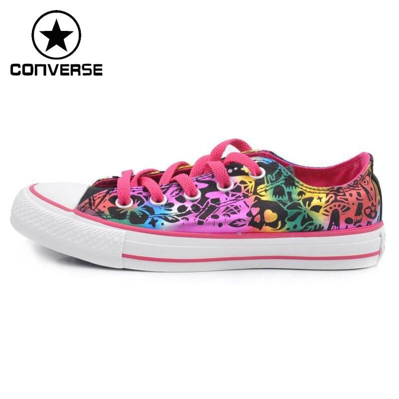 Original Converse Women s Skateboarding Shoes Canvas Sneakers