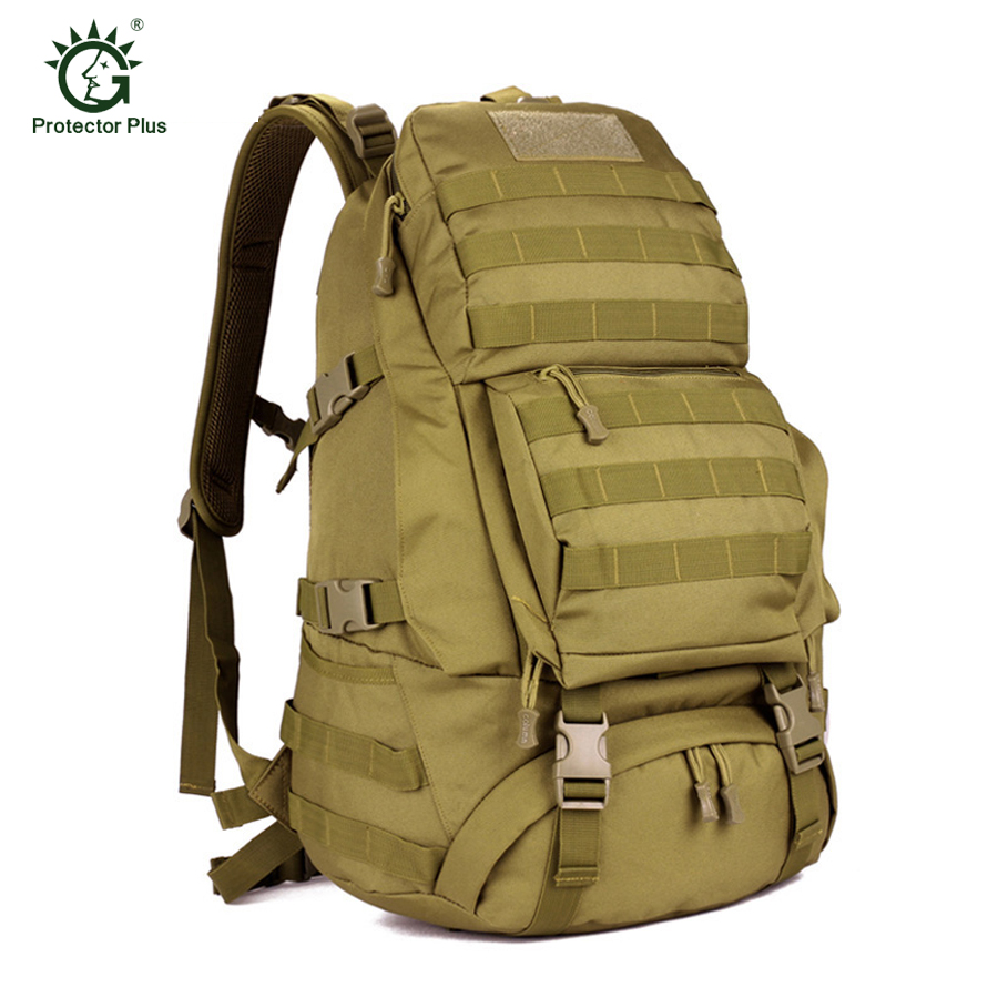 Men Women Unisex Outdoor Military Tactical Large Backpack Hiking Bag Rucksack 45L MOLLE Tactical Army Ergonomic Big Knapsack Bag free shipping men women unisex outdoor military tactical backpack camphiking bag rucksack 50l molle large big ergonomic gear