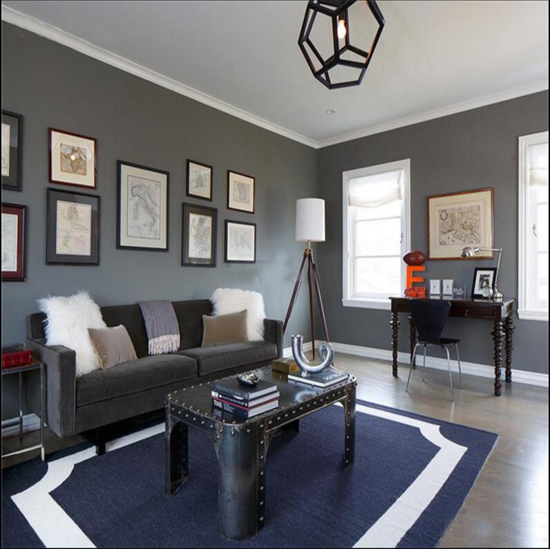 2017 nouveaux tapis tapis et tapis pour salon tapis fait à la main acrylique européen moderne chambre Table basse canapé chambre