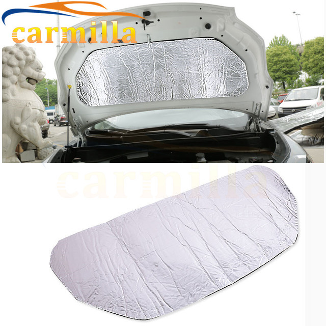 Car Front Engine Hood Cover Soundproof Fire Resistance Cotton Plate for Kia All New Sportage New Sportage QL KX5 2017 Styling