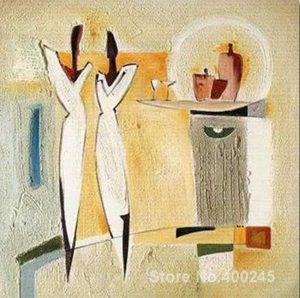 ba5d270113e9 Pinturas abstractas Partido de Deux II lienzo reproducción de arte alta  calidad pintado a mano