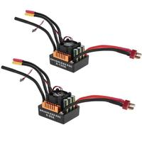 Multiple protection functions ESC Brushless Waterproof Sensorless Speed Controller for 1/8 RC Car Truck Cart Model Parts