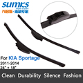 "Wiper blades for KIA Sportage (2011 -2014) 24""+18"" fit standard J hook wiper arms only HY-002"