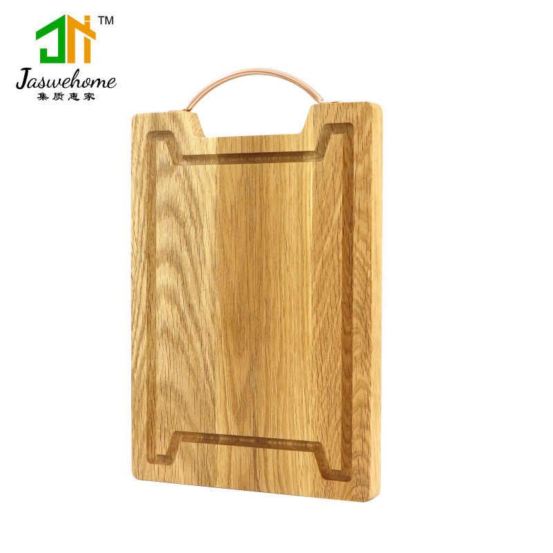 bra passform klassisk passform köp på nätet Jaswehome Kitchen Natural Oak Wood Cutting Boards With Juice ...