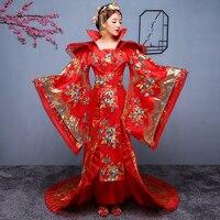 Китайская народная древняя Династия Тан королевская королева фрахт костюм женский элегантный костюм ханьфу Принцесса Костюм Фея платье дл