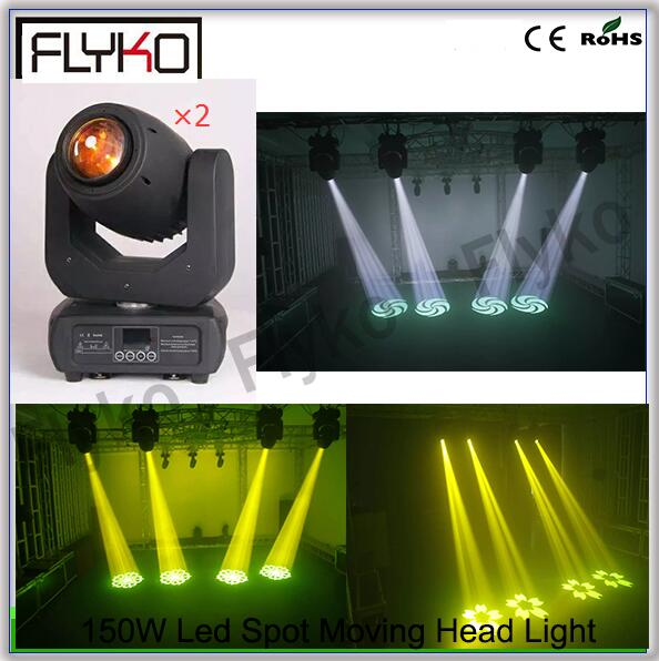 Free shipping 2lots 1 Package DMX led stage light 150w Spot led stage light
