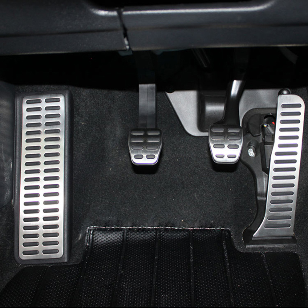 Image 5 - Car Gas Brake Rest Pedal Car Pedals for Volkswagen Vw Golf 5 6 MK5 MK6 Jetta MK5 Scirocco CC TIGUAN Toureg for Skoda Octavia A5-in Pedals from Automobiles & Motorcycles