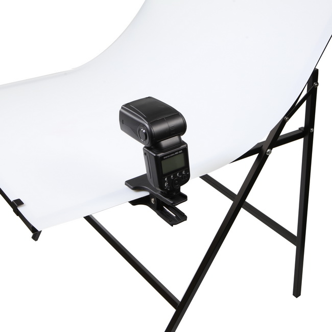 Camera & Photo Photographic Clamp Clip With Hotshoe Mount Table Mini Stand Holder For Flash Speedlite Background Photographic Ligting