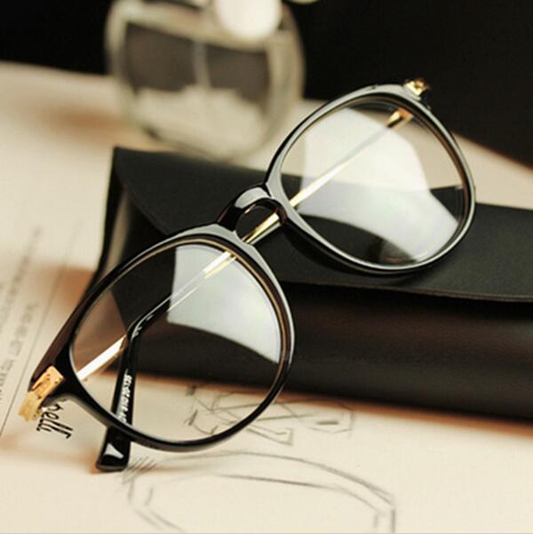 Diseño de marca Grado Gafas Marcos de gafas Gafas monturas de gafas para mujeres Hombres Marco liso para gafas Marco de gafas