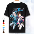 Nova SERVAMP T-shirt cosplay Japão anime Shirota Mahiru camiseta terylene de manga curta Verão Tops Tees
