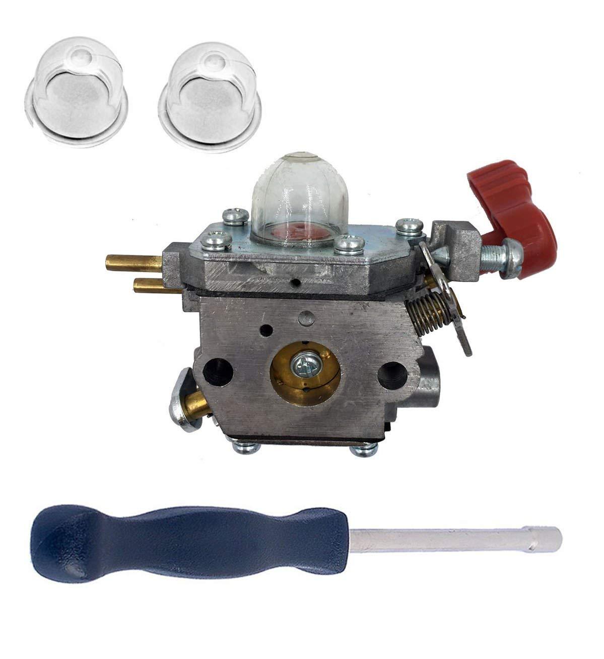 Hot Sale Carburetor W Adjustment Tool For Craftsman Troybilt Bolens Zama Diagram Mtd Cub Cadet Yard Machine Trimmer Replace 753 06288 C1u P27