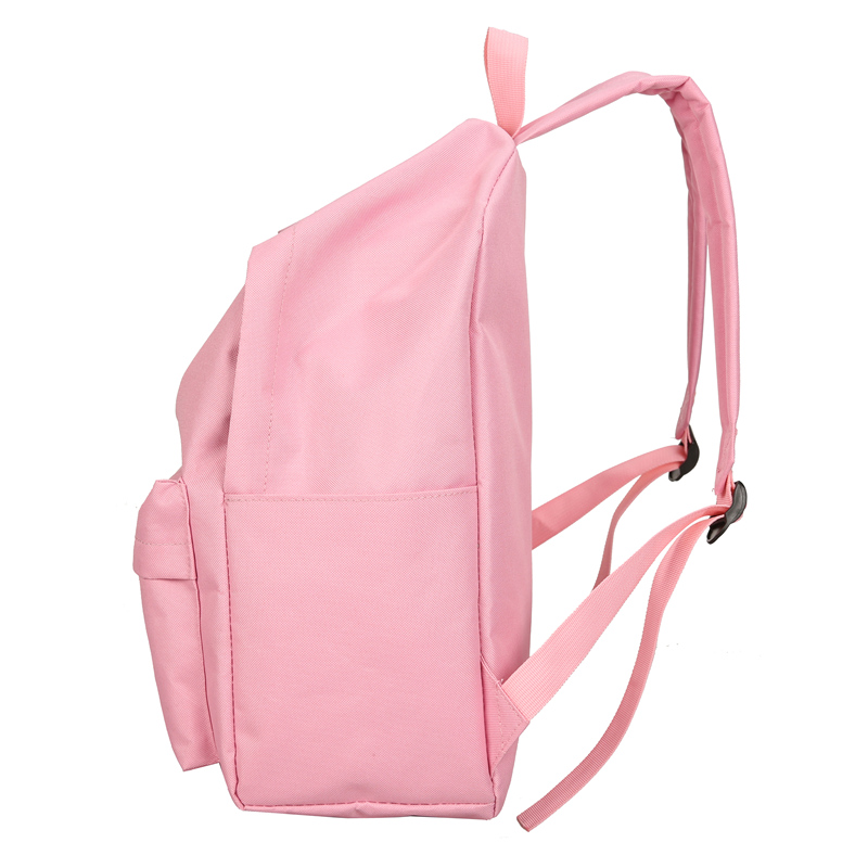 New Cactus Embroidery Simple Canvas Backpack Students School Women Girl Rucksack Mochila Escolar Women Backpack (7)