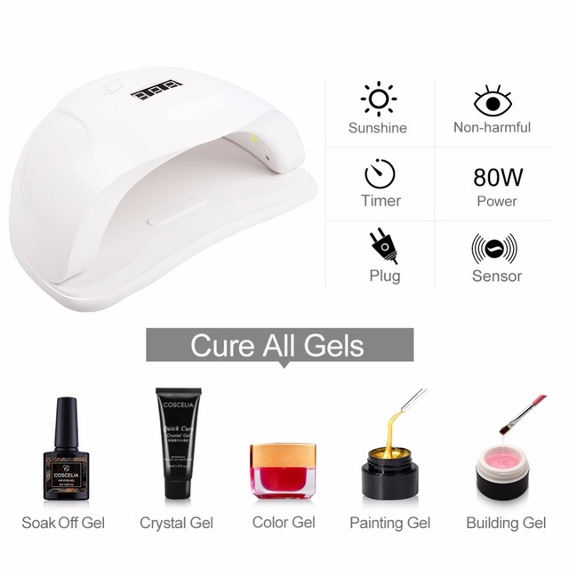 Nail Dryer For LED UV Nail Lamp For Manicure