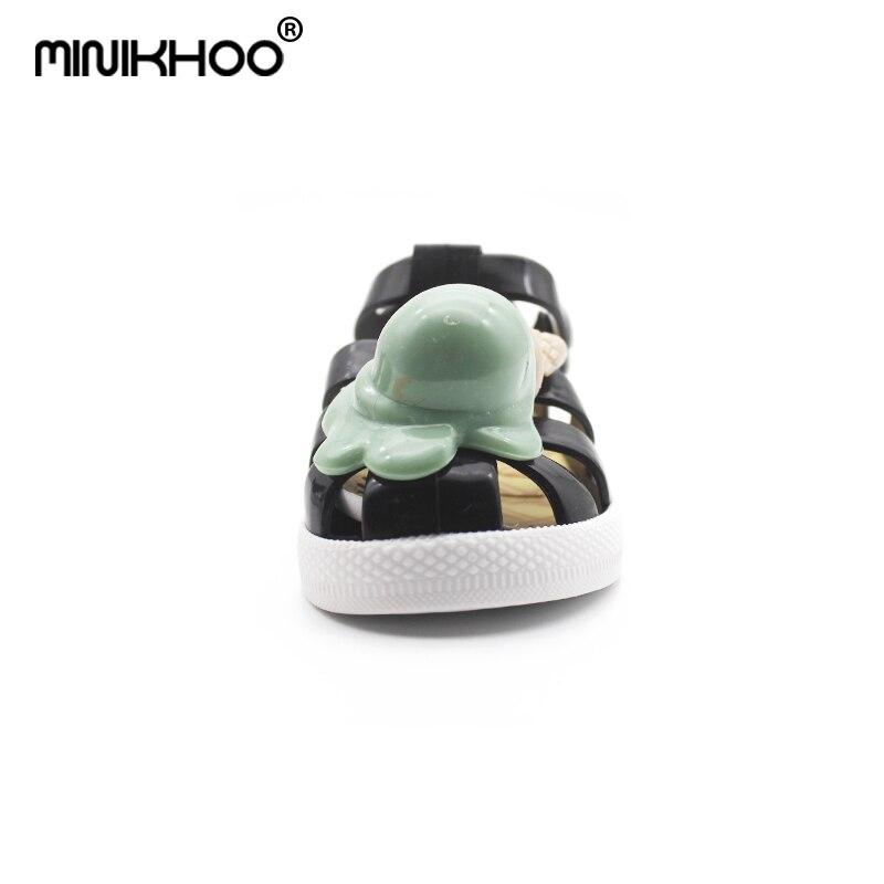 Mini Melissa 2018 nowe dzieci galaretki sandały lody mini melissa - Obuwie dziecięce - Zdjęcie 2